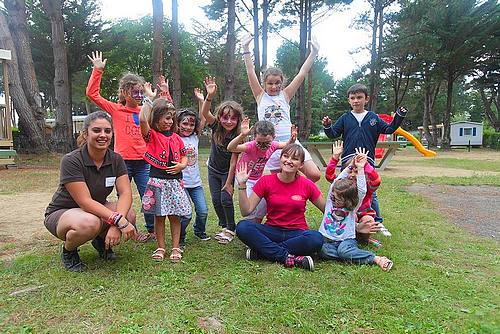 Le family club du Camping Domaine d'Inly